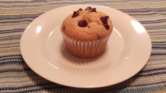 Greek Yogurt Dark Chocolate Chip Banana Muffins Mommy Perfect