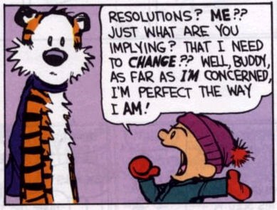 New Years Resolutions That Aren't Dumb Calvin