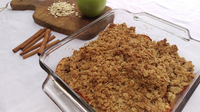 Skinny and Easy Apple Crisp