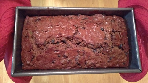 Truly Delicious Fruitcake in loaf pan MommyPerfect