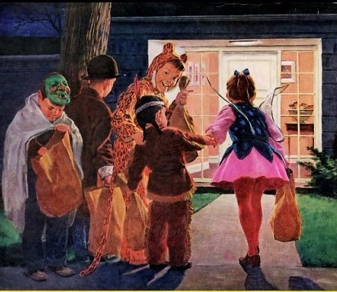 Trick-or-Treating Sure Has Changed