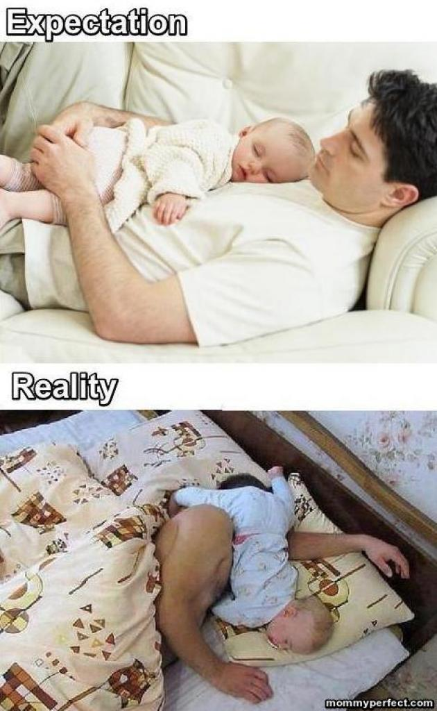 Daddy Expectation vs Reality meme
