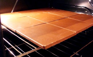 baking with terra cotta pottery quarry stone tiles