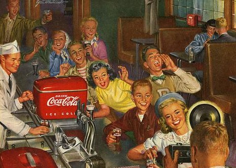 teen coke ad